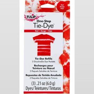 NWT - 10 packs red tulip tie dye